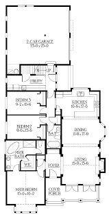 100 narrow house plans with garage tierra ranch narrow