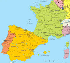 Toulouse France Map by Map Of Spain And France Recana Masana
