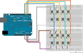 keypad arduino wiring diagram components