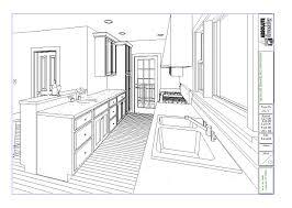 kitchen design fresh draw windows floor plan autocad planning