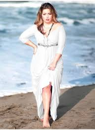 plus size dress for wedding party on the beach u2013 fashdea