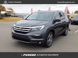 suv honda pilot 2017 new honda pilot touring awd at honda of fayetteville serving