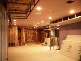 Unfinished Basement Ceiling by Basement Ceiling Ideas Also With A Suspended Ceiling Ideas Also
