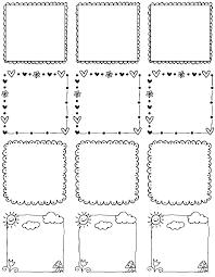 printable doodle borders labels by inktreepress worldlabel blog