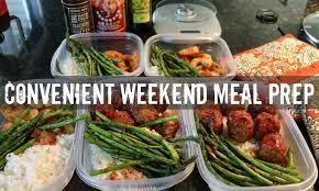 convenient weekend meal prep gauge training youtube