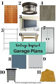 orc fall 2017 vintage inspired garage plans semigloss design