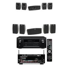 home theater systems amazon com amazon com klipsch quintet v 5 home theater system denon avr