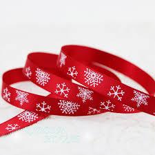christmas ribbon 2meters lot 3 8 10mm top quality silk satin printed christmas