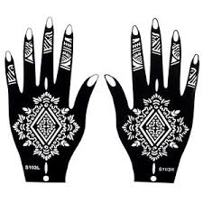 henna patterns on mehndi henna stencils easy design sheets kit