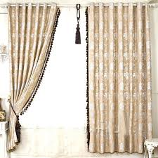 Lace Trim Curtains Collection In Lace Trim Curtains Inspiration With Fringe Within