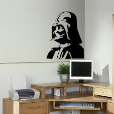 popular bedroom wall stencils buy cheap lots large darth vader star wars kitchen bedroom wall mural stencil transfer decal diy stickers home