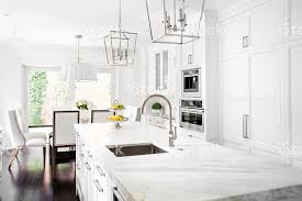 Classic White Interior Design Bright Classic White Kitchen Stock Photo 617893106 Istock