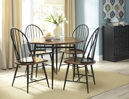 dining room table black furniture round dining room tables with black iron chair using