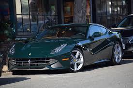 Ferrari California Green - dark green f12 berlinetta autos