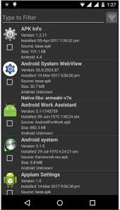 apk info appium getting android apppackage and appactivity nbos