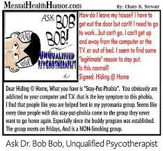 Depression Can T Get Out Of Bed Ask Dr Bob Bob Agoraphobia Mental Health Issues U0026 Depression