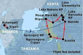 Rwanda World Map by Rwanda Tours Travel U0026 Trips Peregrine Adventures Us