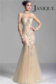 dh prom dresses janique w321 chagne 2014 sleeve of the