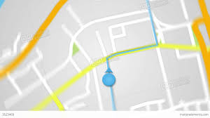 navigation map city map gps navigation seamless loop stock animation 3523469