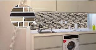 Laundry Room Border - aliexpress com buy free shipping marble glass mosaic tile brown