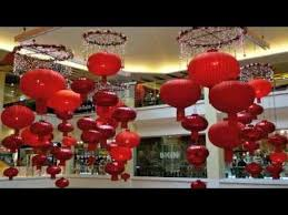 Decorations For Lunar New Year by Chinese New Year Decorations At The Malls Youtube