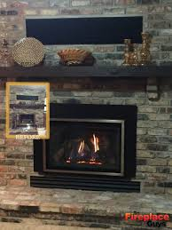 Convert Gas Fireplace To Wood by Easily Converted The Fireplace Guys