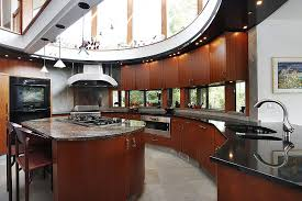 oval kitchen islands simple portfolio 52 kitchens with wood or black kitchen cabinets 2018