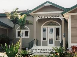 stylish gingerbread house trim