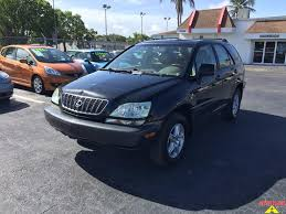 lexus suv for sale in florida 2001 lexus rx 300 for sale in fort myers fl stock 222126