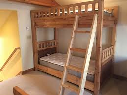 Three Bed Bunk Bed Bedroom Classic Bed Style With Rustic Bunk Beds Ideas