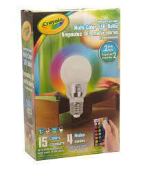 color changing light bulb with remote look at this crayola color changing led light bulb set of two on