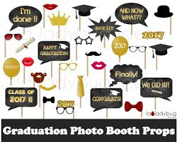 photo booth props graduation photo booth props printable diy 2017 grad selfie