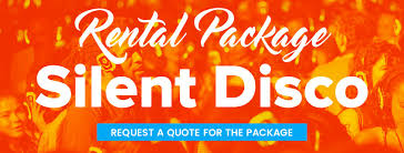 disco rental silent headphone disco package info book now