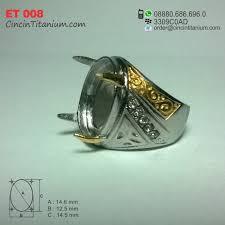 cincin online cincin emban titanium et 008 cincin titanium hitam asli