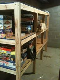 Simple Garage Wood Shelf Plans by Quizzical48dhy
