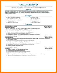 100 resume for general labor i 864 cover letter sworn affidavit