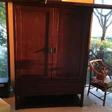 restoration hardware larkspur entertainment armoire furniture in