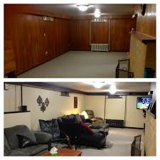 basement wood paneling paint basement gallery