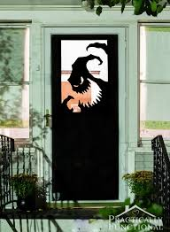 10 spooky diy door decorations for halloween recyclenation