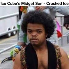 Ice Cube Meme - ice cube midget son crushed ice meme funny pinterest meme