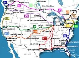 amtrak map usa worth the ride america s trains offers luxury rail travel