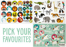 Pick Sheets 3 Sticker Sheets Unicorn Animals Pages Paper Pick Your