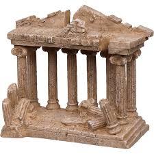 petco medium temple aquarium ornament ruins collection 8