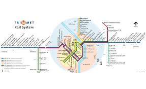 Beaverton Oregon Map by Portland Metro System Map Subway U2022 Mapsof Net