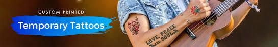 custom temporary tattoos toronto safe customized promo tattoos