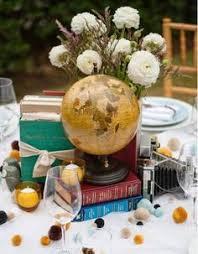 mariage voyage des idées pour un thème de mariage voyage décorations de fête