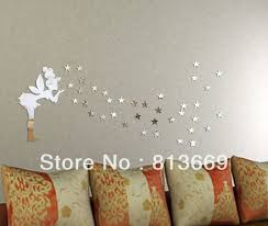 Mirror Wall Decor by Bedroom Decor Vinyl Decals Owl Wall Decals Mirror Wall Clock 80
