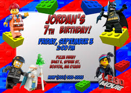 Create Birthday Invitation Cards Lego Birthday Invitations Dhavalthakur Com