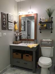 Country Bathroom Vanities by Repose Gray Sw Walls And Rust Oleum Chalked Country Gray Vanity