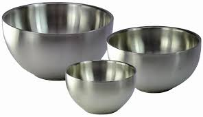 recipient inox cuisine bol inox paroi 24 cm tom press